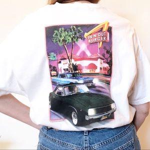 In N Out Burger Las Vegas 90's XL T Shirt